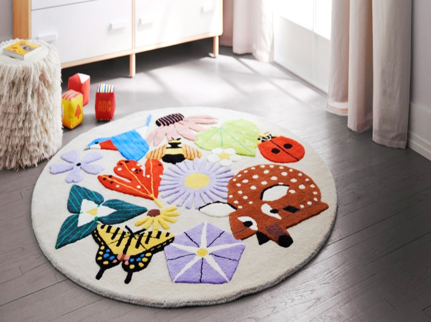 How To Choose The Perfect Rugs For Childrens Bedrooms